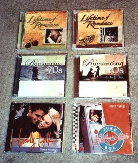 Time Life Lifetime of Romance Romancing The 70s More 2 CD Sets