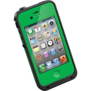 Lifeproof Smartphone Case iPhone 4 4S Green Water Proof Shock Proof