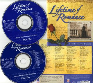 Lifetime of Romance Some Enchanted Evening 2CDs 2004 Time Life Music