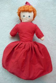 Dippity Flip Topsy Turvy Doll Lil Red Riding Hood Grandma Big Bad Wolf