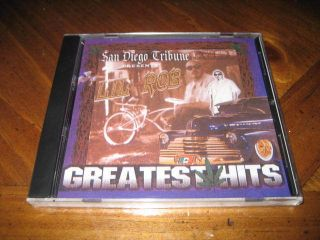 Chicano Rap CD Lil Rob Greatest Hits West Coast Latin RARE