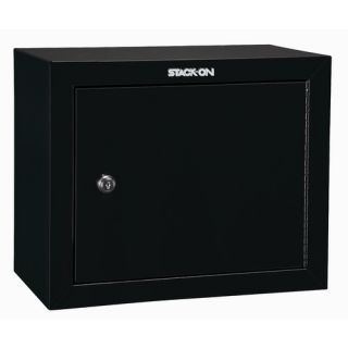 Stack on Steel Key Lock Pistol Security Cabinet Black GCB 900 DS