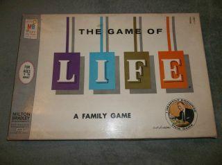 Vintage Board Games Life Milton Bradley 1960s Art Linkletter