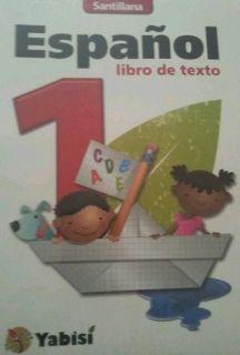 LIBRO DE TEXTO Y 4 CUENTO TEXTBOOK KIT Santillana Serie Yabisi Espanol