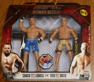 Tito Ortiz Chuck Liddell UFC Jakks Pacific Action Figures Ultimate