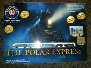 Lionel O Gauge Polar Express Train Set 6 31960 Christmas