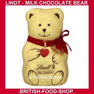 Lindt Milk Chocolate Bear Teddy Bear