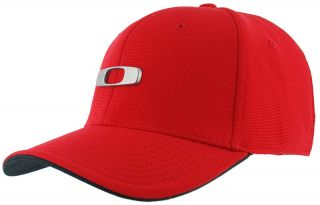 Oakley Metal Gas Can Cap Red Line Flex Fit 91220 465 Brand New
