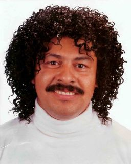 Curly Afro 70s 80s Lionel Richie Disco Pimp Wig Costume Black