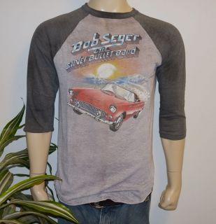 RaRe *1983 BOB SEGER* vintage rock concert tour jersey t shirt (L) 80s