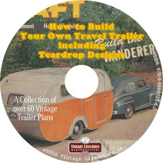 Tear Drop Trailer on CD ღ♥¸¸ • ღ Vintage Literature