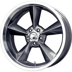 New 18x8 5x120 65 MB Motoring Gun Metal Wheels Rims