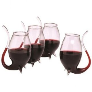 Sippers Set of 4 Glass Glasses for Drink Wine Liqueurs Gift New