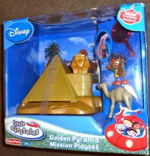Disney Little Einsteins Golden Pyramid Mission Playset 3Y Fisher Price