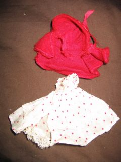 Little Red Riding Hood Outfit for Nancy Ann Storybook Doll