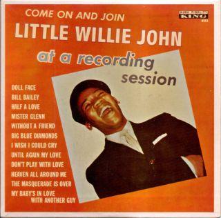 RARE Little Willie John R N Blues 60s EP King