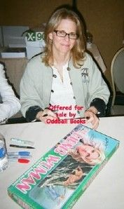 Bionic Woman Game Signed Lindsay Wagner R Anderson