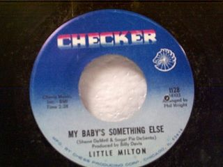 Little Milton My Babys Something Else Your People 45 Mint