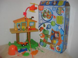 Go Diego Talking Rescue Center Fisher Price Baby Jaguar Complete Box