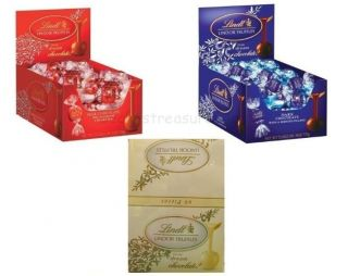 Lindt Lindor Truffle Milk Dark White Chocolate Truffles Candy 1 Box