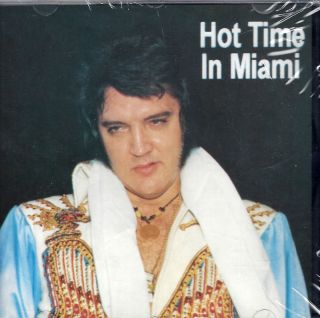 Elvis Presley Hot Time in Miami Live CD 25 Hits 02 77 Original Import