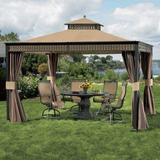 Living Home Outdoors 10 x 12 Aluminum Gazebo Canopy