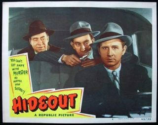 16mm Film Noir Like Feature Hideout 1949 Lloyd Bridges