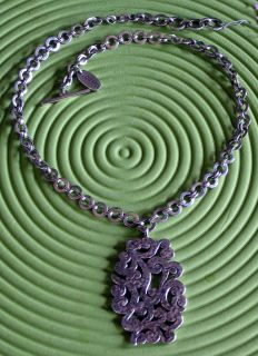 New Lois Hill 925 Sterling Silver Chain Pendant Necklace