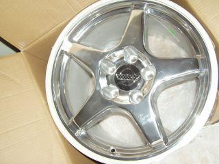 Detroit Wheels Corvette ZR1 17 x 11 Chrome Rim Single One Wheel
