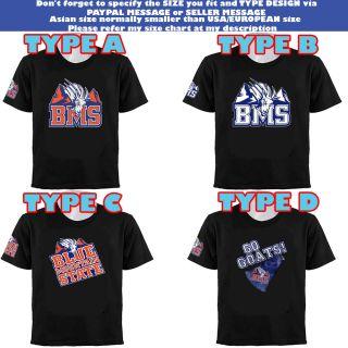 Mountain State College Football Team Goats Logo Series T Shirt
