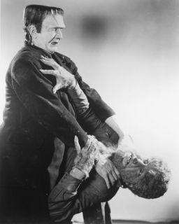 Boris Karloff Lon Chaney Frankenstein Wolf 24X30 Poster