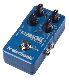 TC Electronics FlashBack Delay and Looper Guitar Delay Effect Pedal B