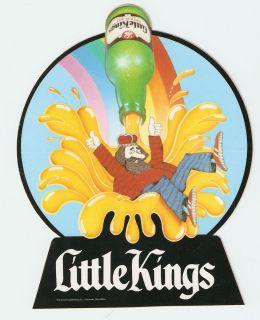 SCHOENLING LITTLE KINGS CREAM ALE BEER STICKER COLORFUL MINT