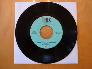 Willy Trice Three Little Kittens Rag One Dime Blues 1972 Trix 4506 7