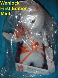 Mascot 9 Limited Edition BNWT London 2012 Olympic Plush Soft Toy
