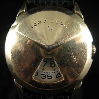 Lord Elgin Jump Hour Watch