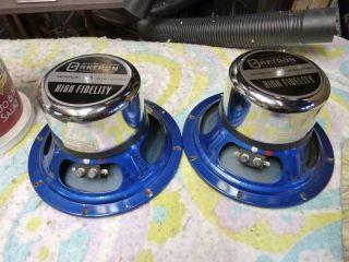 Vintage Oaktron FE 8KW 8 Full Range Speakers Goodmans Lorentz