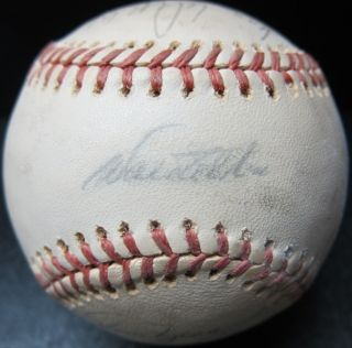 1974 Los Angeles Dodgers Team Signed Autographed Ball Baseball Alston