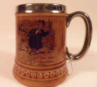 Lord Nelson Pottery Beer Mug England