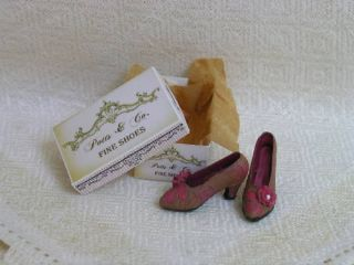 Scale Brown Pink Shoes Box Kit by Lori Ann Potts
