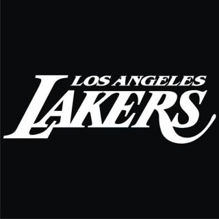 Los Angeles Lakers Black T Shirt New All Sizes