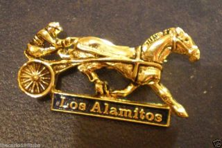 Los Alamitos Harness Racing Pin Obsolete New Nice Gift