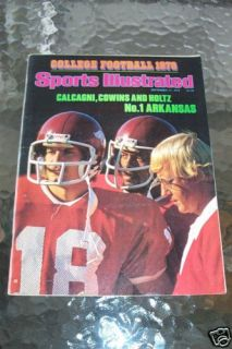 Lou Holtz Arkansas Razorbacks 1978 Sports Illustrated