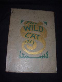 1923 Los Gatos California High School Yearbook