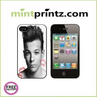 One Direction 1D Louis Tomlinson Kisses ★ iPhone 4 4S Case Hard