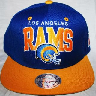 Mitchell Ness La Los Angeles Rams Retro Snapback Cap