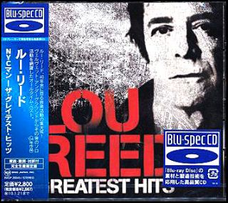 Lou Reed Greatest Hits NYC Man Japan Made Blu Spec CD New BVCP 20045