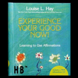 NEW Experience Your Good Now Louise L. Hay Book and CD Affirmations