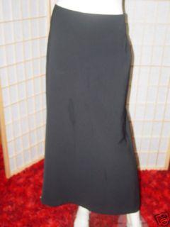 Womans Black Formal Dress Louben for Laura Skirt 10