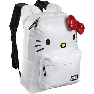 Loungefly Hello Kitty White Backpack with Ears White